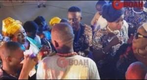 Video: Lola idije, Madam Saje, And Madam Keji Dances With Yomi Fabiyi As They Spray Him Money At His Mother